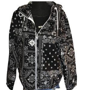 Denim & Flower Jacket NWT Large